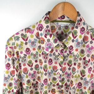 Tilley Liberty Art Fabrics Button Shirt Floral 2XL